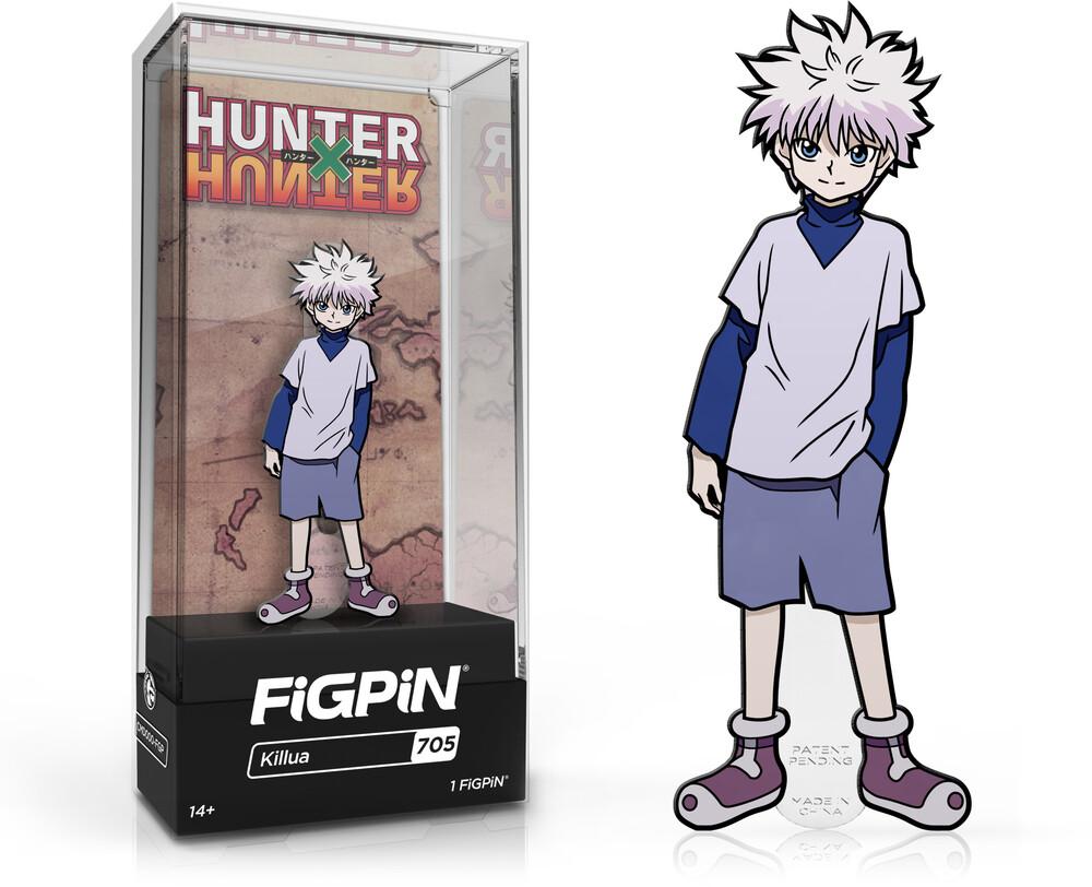 Figpin Hunter X Hunter Killua #705 - FiGPiN Hunter X Hunter Killua #705
