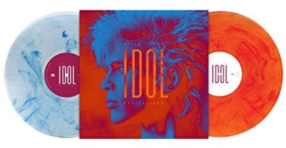 Billy Idol - Vital Idol: Revitalized [Silver/White Orange/Red Swirls 2LP]