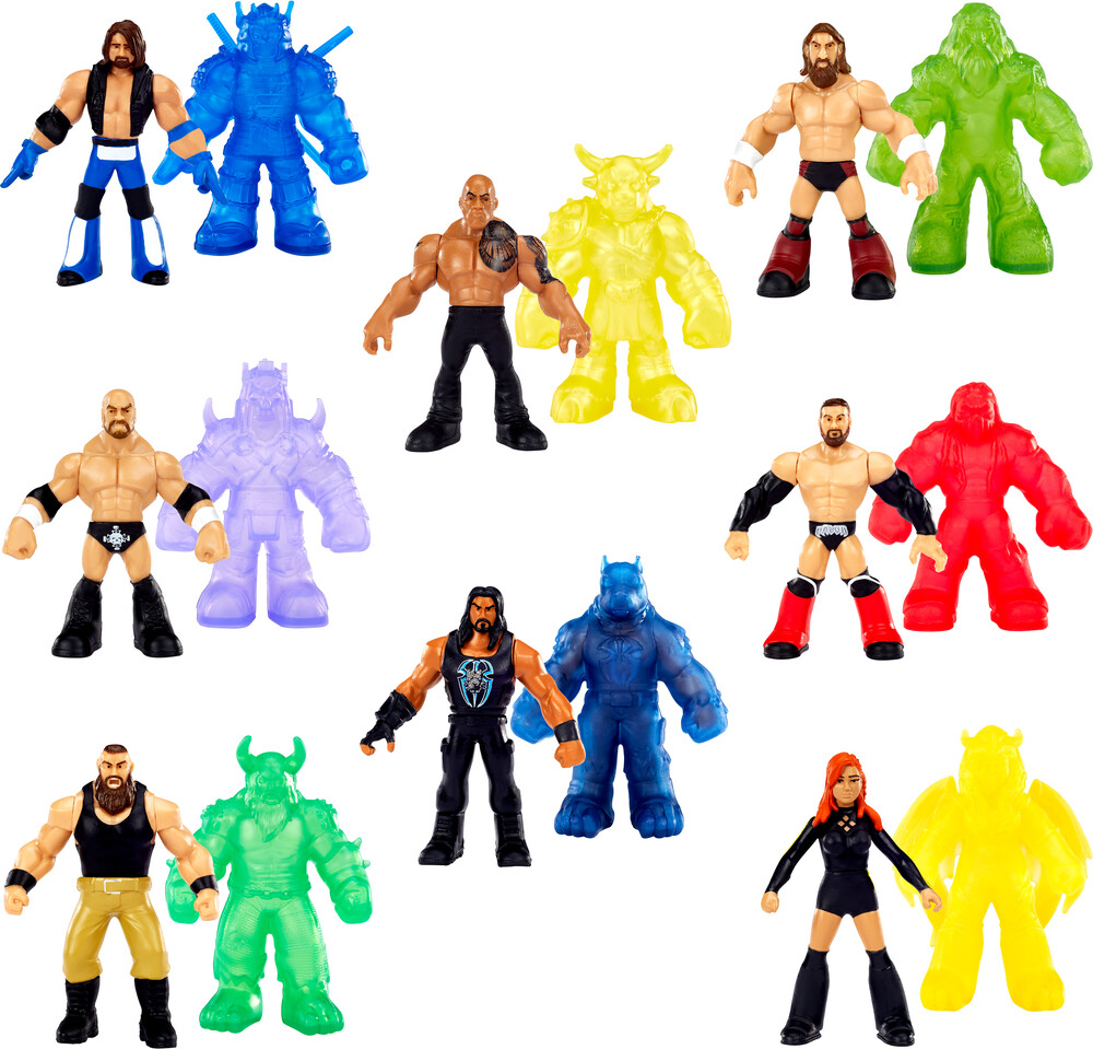 WWE - Mattel Collectible - WWE Wrestlemania Mini Figure Beast Mode Assortment