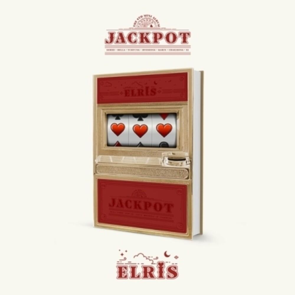 Elris - Jackpot (Red Version) (incl. 92pg Photobook, Trump Card Set, SpecialPhotocard + Sticker)