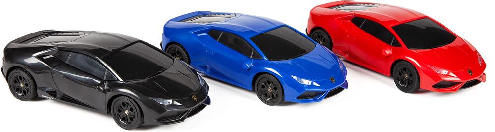 Rc Vehicles - 1:24 Lamborghini Huracan RC Car (One random color per transaction. Colors red, blue or black.)