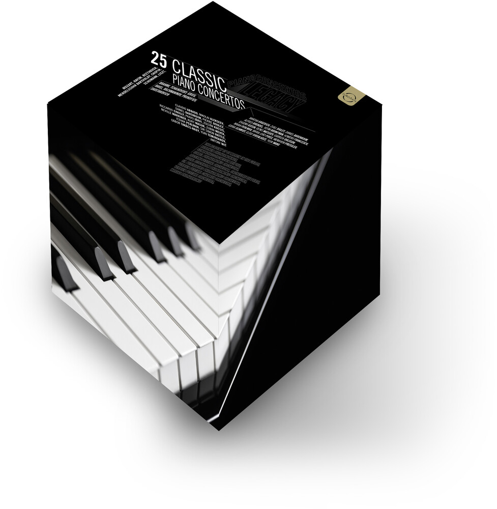 Martha Argerich - 25 Classic Piano Concertos (8pc) / (Bonc Box Uk)