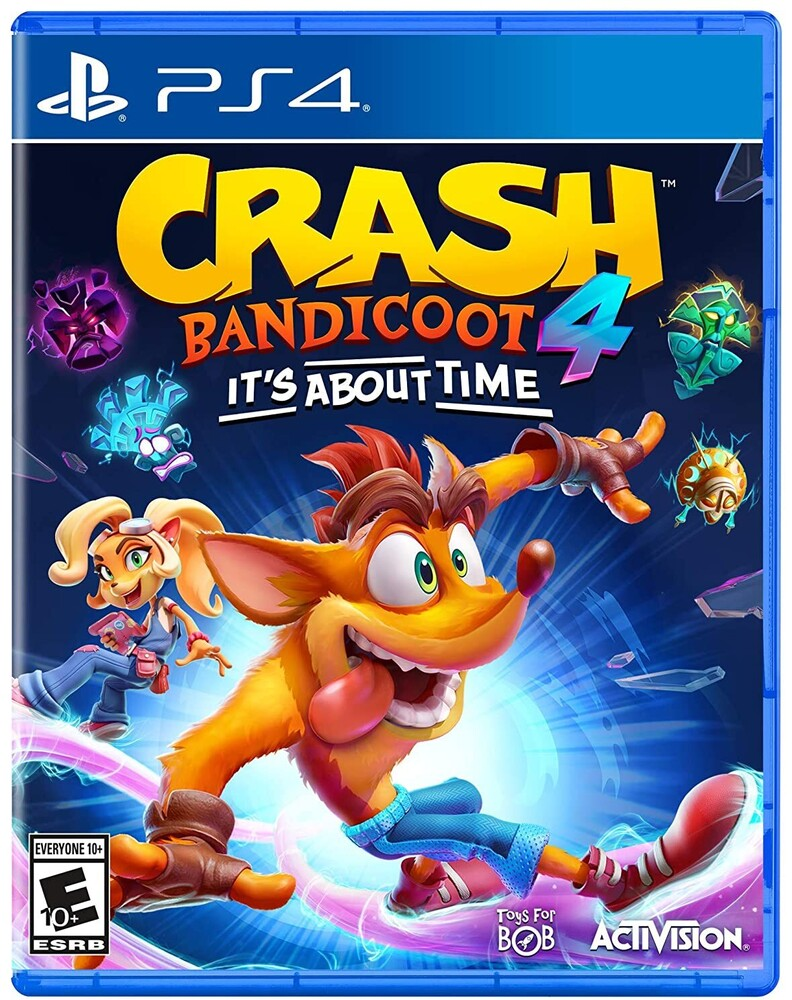Ps4 Crash Bandicoot 4: It's About Time - Ps4 Crash Bandicoot 4: It's About Time