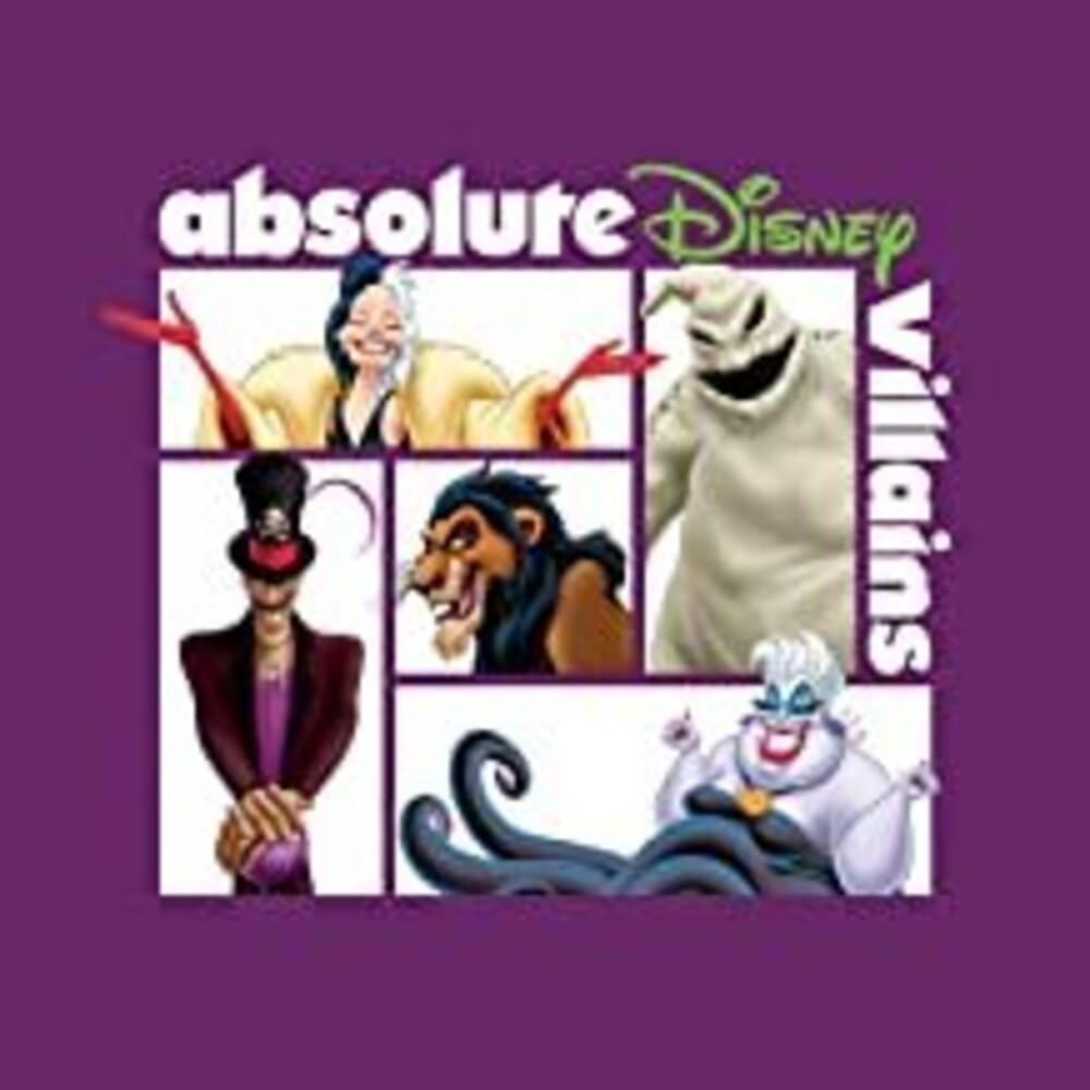 Absolute Disney Villains / Various - Absolute Disney: Villains (Various Artists)