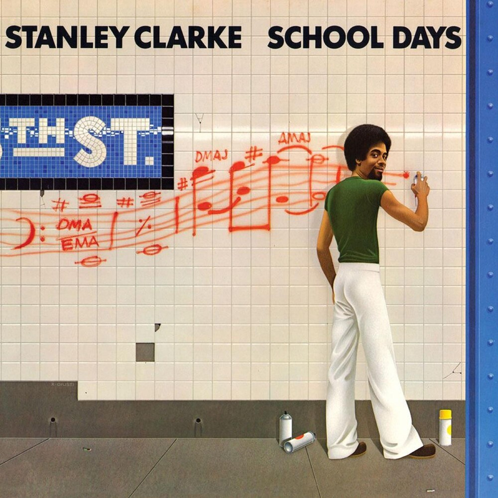 Stanley Clarke - School Days (Audp) (Blue) [Colored Vinyl] (Gate) [Limited Edition]