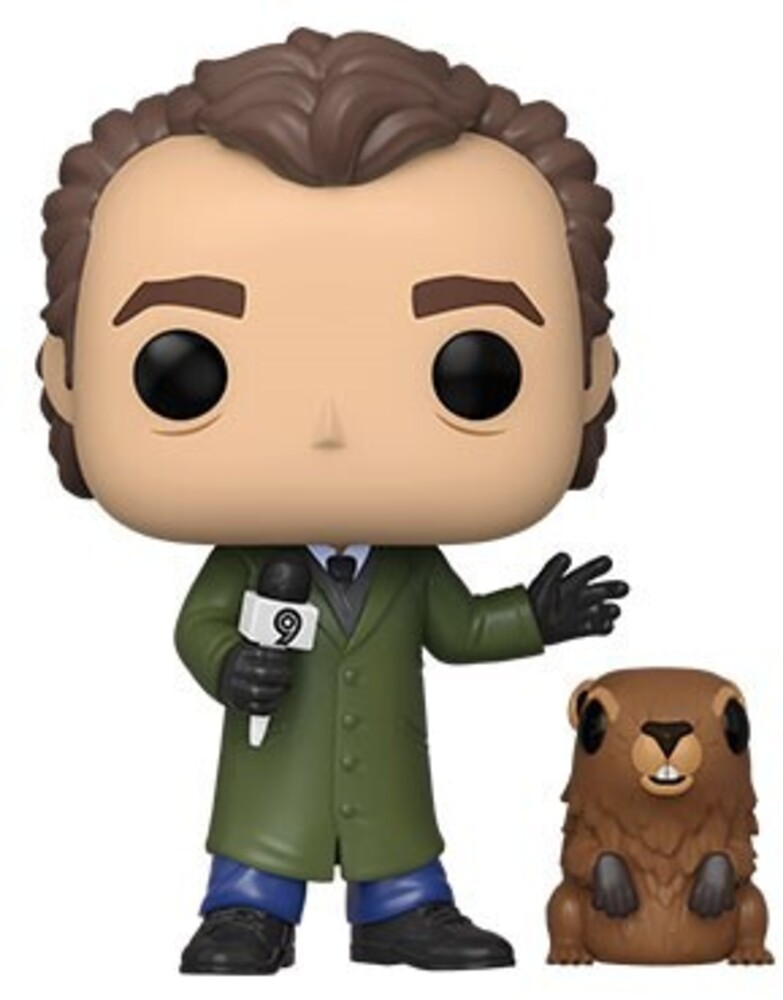 Funko Pop!&Buddy: - FUNKO POP! & BUDDY: Groundhog Day - Phil w/Punxsutawney Phil