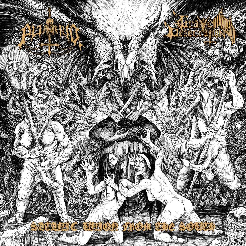 Putrid / Grave Desecration - Satanic Union From The South