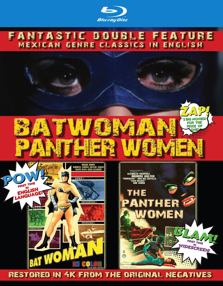 Batwoman & the Panther Women: Double Feature - Batwoman / The Panther Women