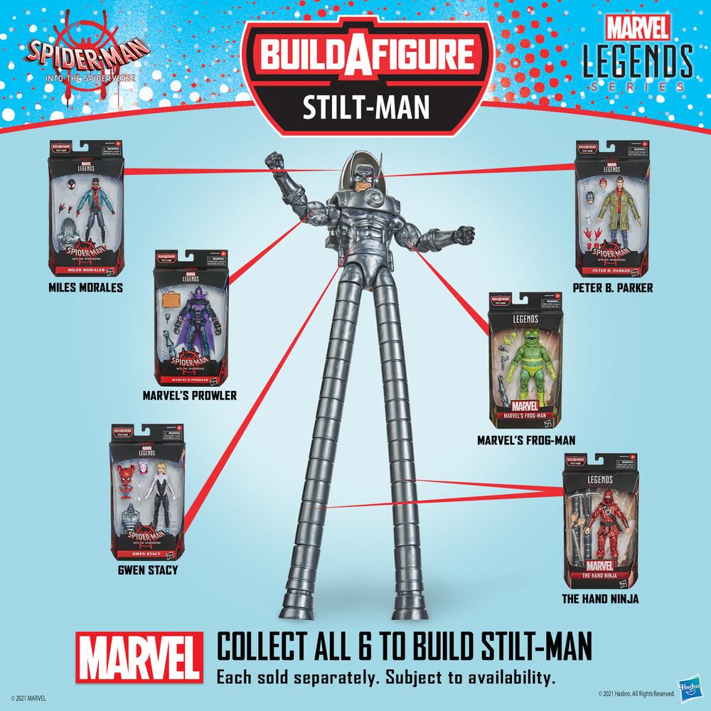 Spd Legends Ast - Hasbro Collectibles - Marvel Legends Spider-Man Assortment