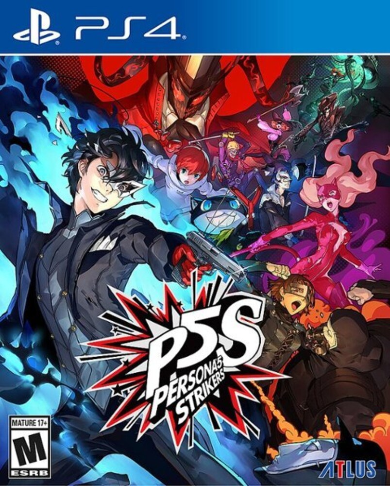 Ps4 Persona 5 Strikers - Persona 5 Strikers for PlayStation 4