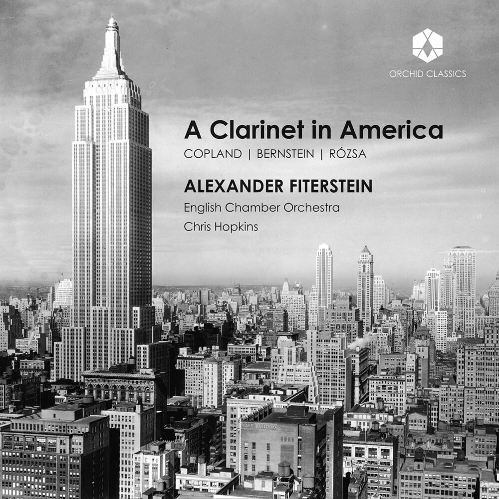 Bernstein / Fiterstein / Hopkins - Clarinet in America