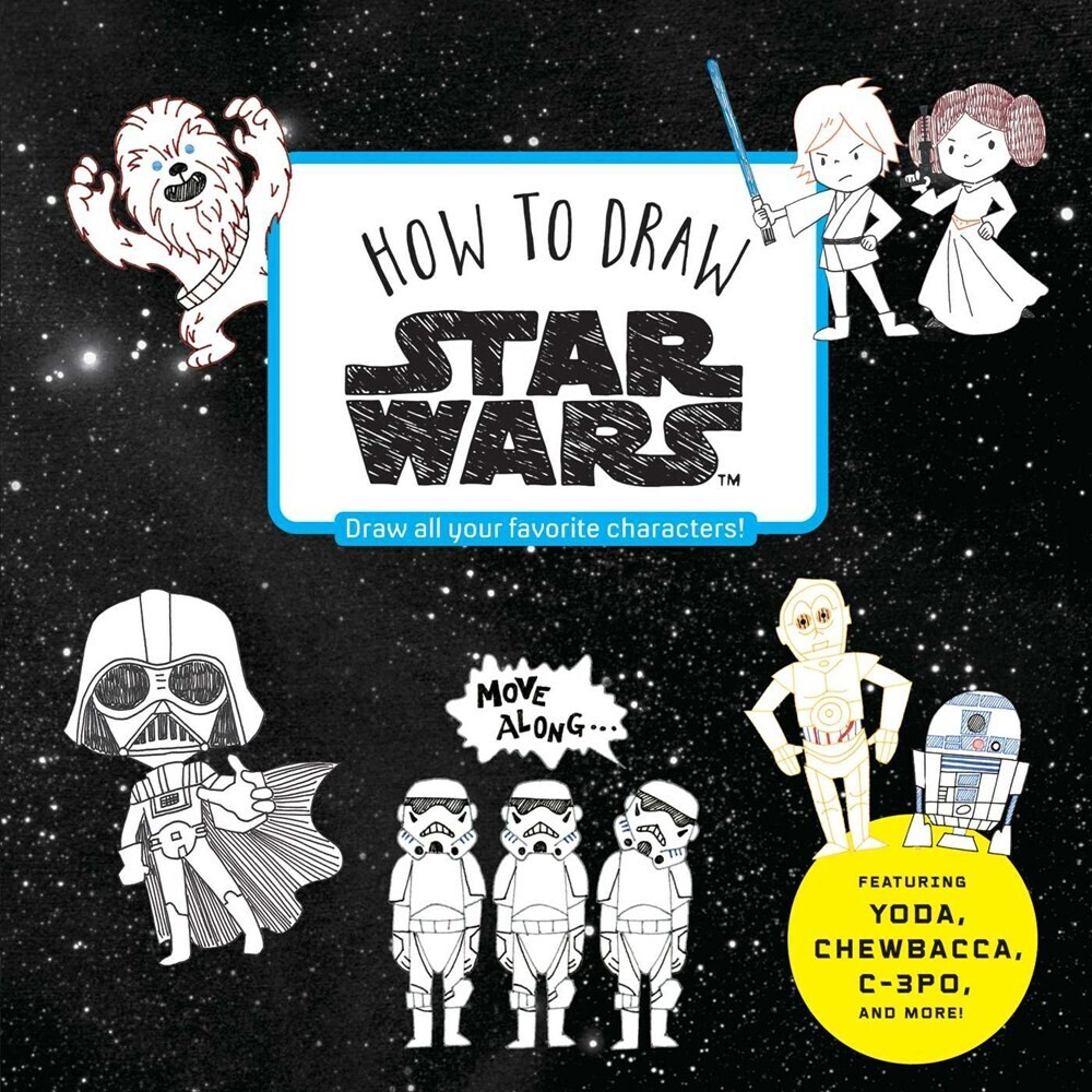 Viz Media - How to Draw Star Wars: Draw all your favorite characters