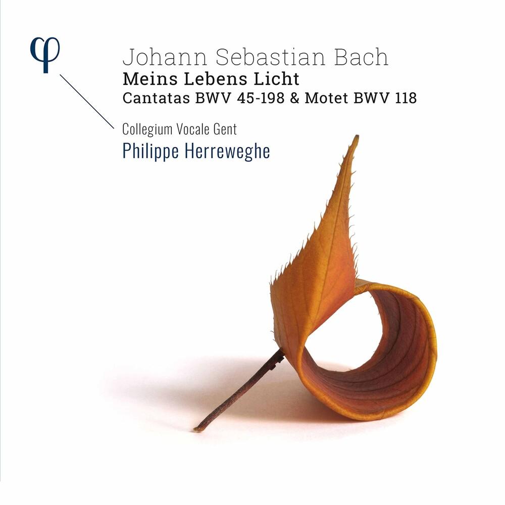 J Bach .S. / Collegium Vocale Gent / Herreweghe - Meins Lebens Licht