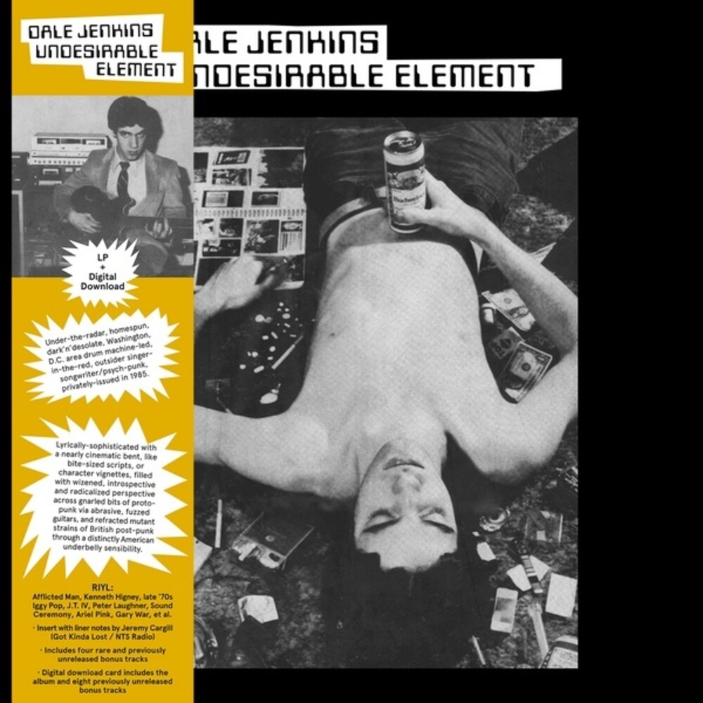 Dale Jenkins - Undesirable Element