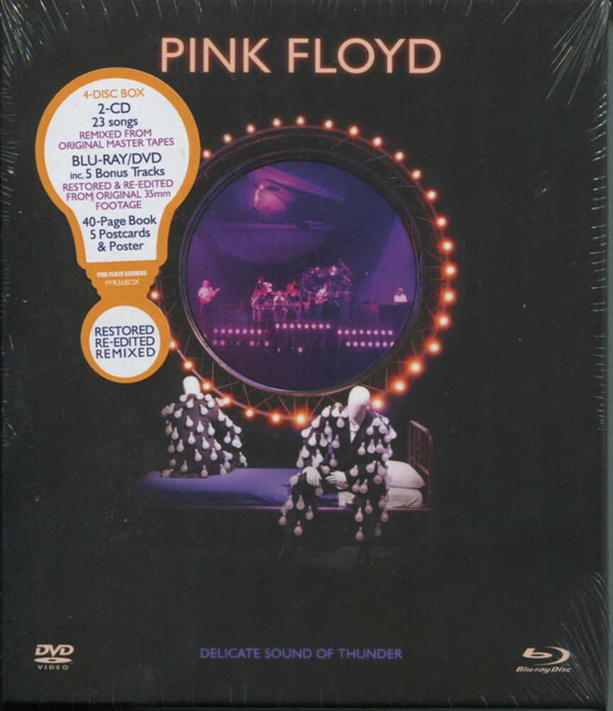Pink Floyd - Delicate Sound Of Thunder - Restored, Re-edited, Remixed (2CD/Blu-Ray/DVD)