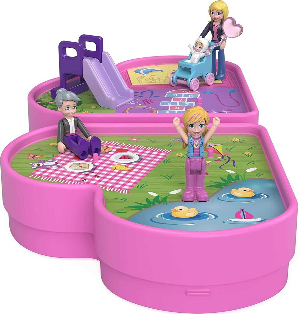 Polly Pocket - Mattel - Polly Pocket Micro Doll Multipack Family Playground