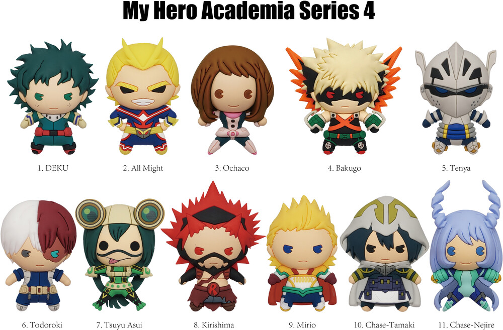 - My Hero Academia Series 4 - 3d Foam Bag Clip (Key)