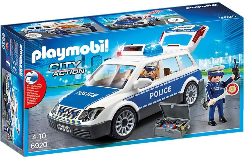 Playmobil - City Action Police Emergency Vehicle (Fig)