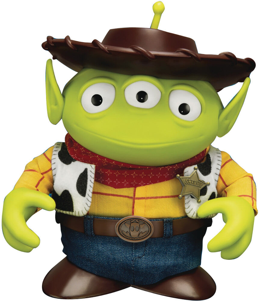 - Toy Story Dah-025 Dynamic Heroes Alien Remix Woody