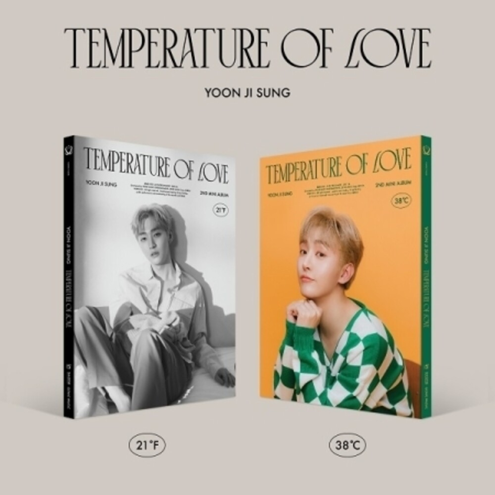 Yoon Ji Sung - Tempertature Of Love (Stic) (Phob) (Phot) (Asia)