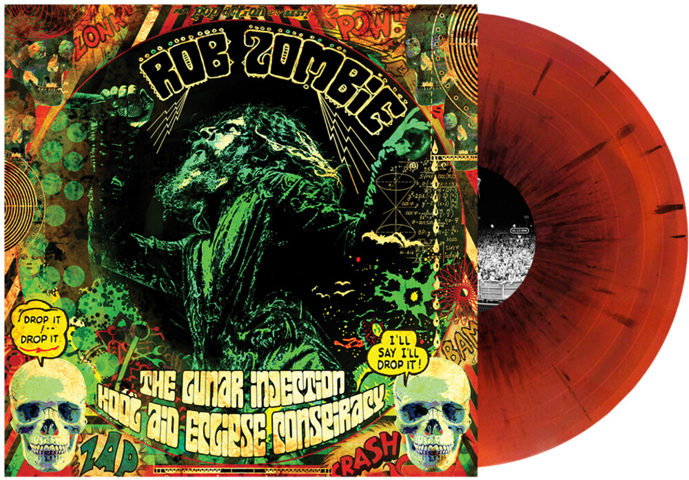 Rob Zombie - Lunar Injection Kool Aid Eclipse Conspiracy (Blk)