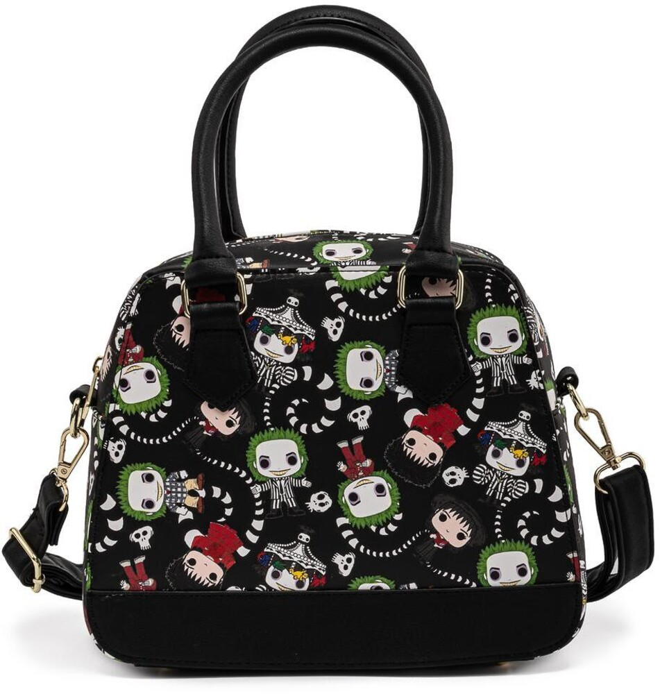 Loungefly Beetlejuice: - All Over Print Crossbody Bag (Tote)