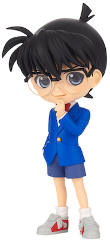 Banpresto - Case Closed Conan Edogawa Q Posket Figure Ver B