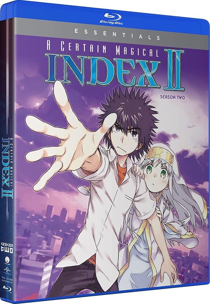 Certain Magical Index II: Season 2 - Certain Magical Index Ii: Season 2 (4pc) / (Box)