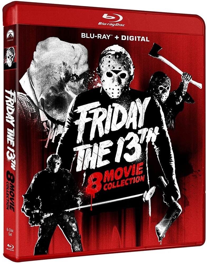 Friday the 13th 8-Movie Collection - Friday The 13th 8-Movie Collection (6pc) / (Box)