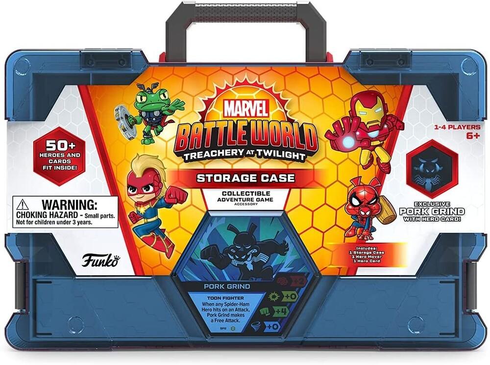 - Marvel Battleworld: S2 Storage Case (Vfig) (Wbdg)