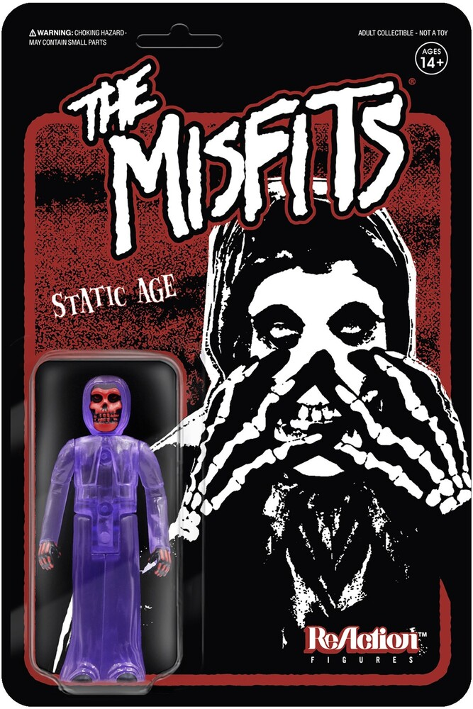 - Misfits Reaction - Fiend Static Age (Clear Purple)