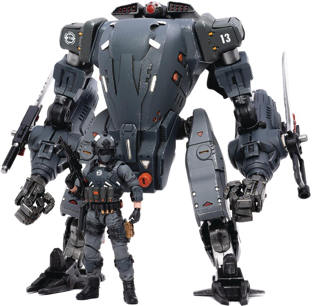 - Joy Toy North Firehammer Assault Mech 1/18 Fig (Ne