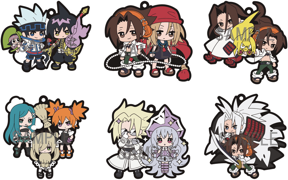 - Shaman King Rubber Mascot Buddy Colle 6pc Ds (Fig)