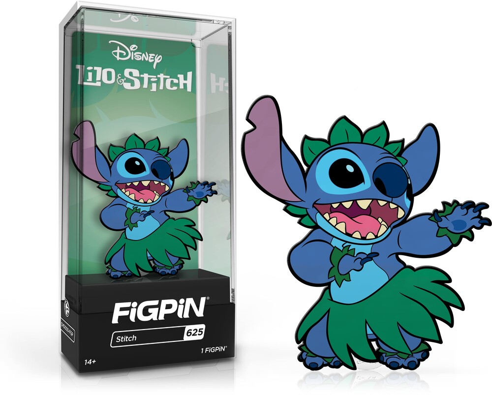 Figpin Disney Lilo & Stitch Stitch #625 - Figpin Disney Lilo & Stitch Stitch #625 (Clcb)