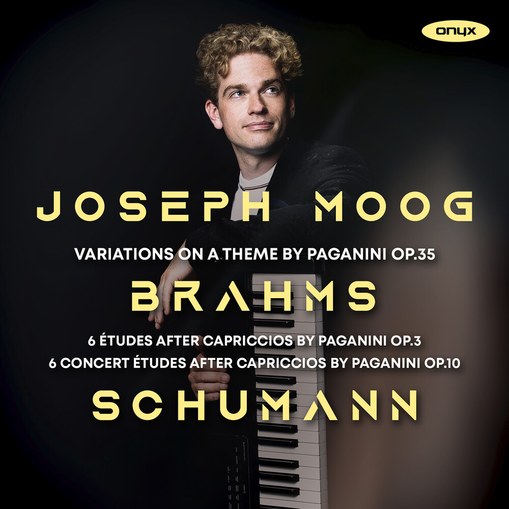 Joseph Moog - Brahms: Variations On A Theme By Paganini Op.35