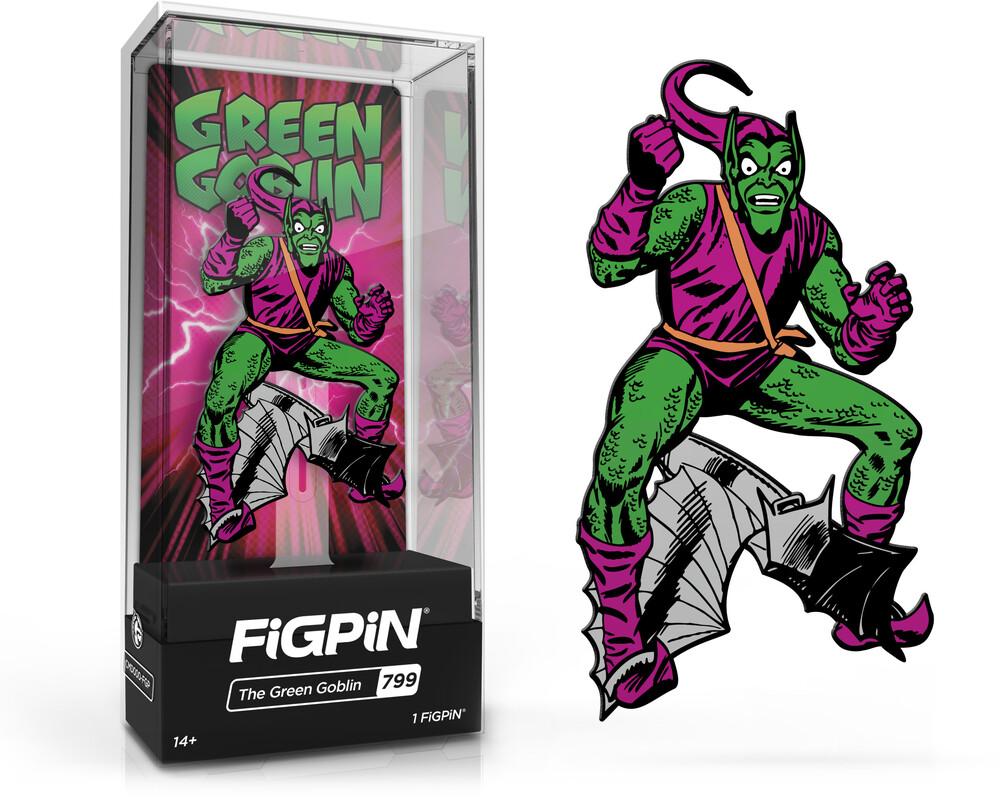 Figpin Marvel Villains Green Goblin #799 - Figpin Marvel Villains Green Goblin #799 (Clcb)