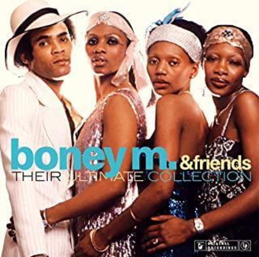 Boney M & Friends - Their Ultimate Collection [180-Gram Blue Colored Vinyl]