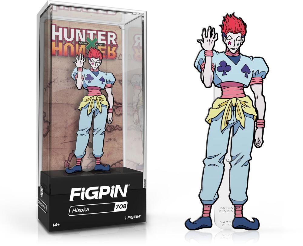 Figpin Hunter X Hunter Hisoka #708 - FiGPiN Hunter X Hunter Hisoka #708