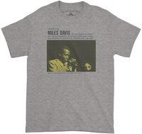 Miles Davis - Miles Davis And The Jazz Giants Prestige 7150 Album Cover Art Heather Gray Lightweight Vintage Style T-Shirt (3XL)
