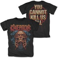 Kreator - Kreator You Cannot Kill Us All Black Unisex Short Sleeve T-shirt Large