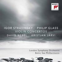 Glass / Nebel / Jarvi - Violin Concertos