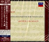 Bach / Arthur Grumiaux - Bach: Sonatas & Partitas For Violin Solo [Limited Edition]