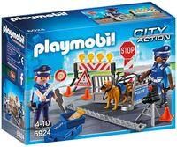 Playmobil - City Action Police Roadblock (Fig)