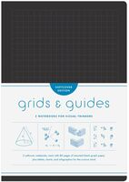 Princeton Architectural Press - Grids & Guides Softcover Black Two Notebooks For