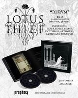 Lotus Thief - Rervm (Hardcover Book) [Limited Edition]
