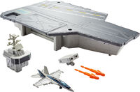 Matchbox - Mattel - Matchbox Top Gun Aircraft Carrier