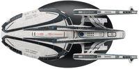 Star Trek Online - Eaglemoss - Star Trek Online - Avenger-class Federation Battlecruiser