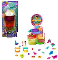 Polly Pocket - Mattel - Polly Pocket Spin and Reveal Juice Can