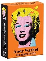 - Andy Warhol Mini Shaped Puzzle Marilyn