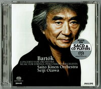 Bartok / Seiji Ozawa - Bartok: Music For Strings. Percussion & Celeste / Concerto ForOrchestra (UHQCD)